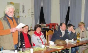Der bisherige Kassenwart Volker Buchloh berichtete über die Finanzen des Vereins. Foto: Helmut Scheffler